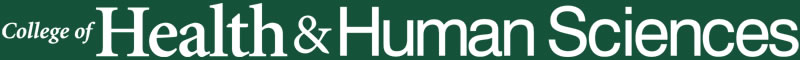 College of Health and Human Sciences logo