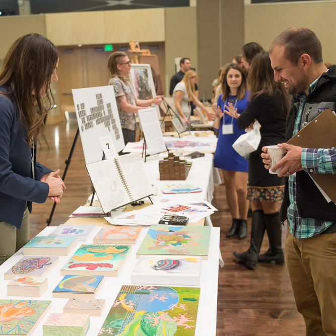 Visual Art Display at 2017 show